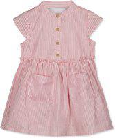 Budding Bees Girls Midi/Knee Length Casual Dress(Pink, Sleeveless)