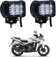Riderscart Headlight, Fog Lamp LED for Hero(Universal For Bike, Pack of 2)