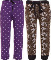 Vimal Jonney Track Pant For Boys(Multicolor, Pack of 2)