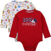 Quancious Baby Boys Multicolor Bodysuit