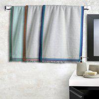 Athom Trendz Cotton 210 GSM Bath Towel(Pack of 3, Multicolor)