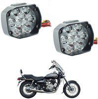 Riderscart Headlight, Fog Lamp LED for Bajaj(Avenger Cruise 220, Pack of 2)