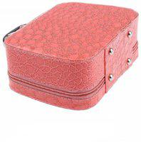 SKYFISH Cosmatics bag and storage bag and also jewelry,utility,makeup kit and vanity bag and purse for ladies bag,women bag ,girls bag and Beauty Accessories and makeup kit storage Box for Travel toiletry kit and cosmatics pouch bag and trolly bag for travel bag All Vanity Box (Multicolor) Travel To