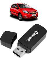 AK Art v2.1+EDR Car Bluetooth Device with USB Cable, Audio Receiver, Adapter Dongle, Car Charger(Black)