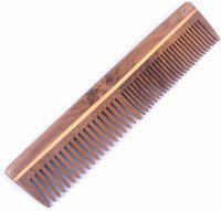 Osking Hand made Neem Wood Hair Comb Anti-Dandruff Comb, Anti Hair fall For Men & Women Model No.2