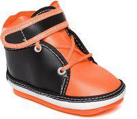 CHUTPUT Boys & Girls Lace Casual Boots(Orange)