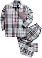 KIDSCLAN Kids Nightwear Boys & Girls Solid Cotton Blend(Light Blue Pack of 1)