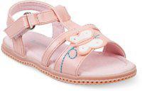 KITTENS Girls Velcro Flats(Pink)