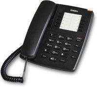 Uniden AS7301 Corded Landline Phone(Black)