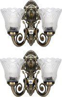 Areezo Wallchiere Wall Lamp(Pack of 2)