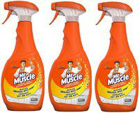 Mr Muscle Advanved Power Kitchen Cleaner 750ml Pack Of 3 Kitchen Cleaner(2250 ml)