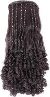 Haveream Brown curly studded stone Hair Extension