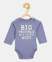 The Children's Place Baby Boys & Baby Girls Blue Bodysuit