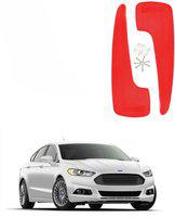 AdroitZ Front Mud Guard For Ford Fiesta NA(Red)