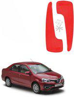AdroitZ Front Mud Guard For Toyota Camry NA(Red)