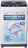Micromax 7.2 kg Fabricare Wash Fully Automatic Top Load Grey(MWMFA721TTSS2GY)