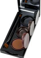 Futaba Waterproof Smudge Proof Eyeliner Gel With Mirror-3 Colors 18 g(Multicolour)