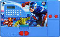 Aarvi Avengers Cartoon Character Print Art Plastic Pencil Box(Set of 1, Multicolor)