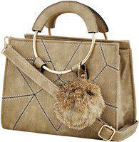 Mark & Keith Women Brown Messenger Bag