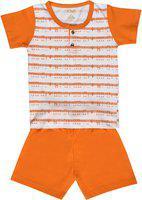 Kiwi Baby Boys' Clothing Set (TB562G-KW1367_Orange_2-3 Years)
