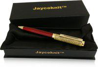 Jaycoknit YuBeda Red Designer Metal Ball Pen Gift,Corporate Gift Set Ball Pen