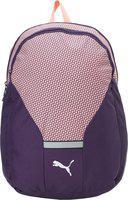 Puma Beta Backpack 23 L Backpack(Purple, Pink)