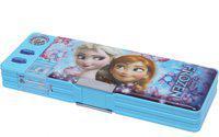 Disney FROZEN FROZEN Art Plastic Pencil Box(Set of 1, Light Blue)