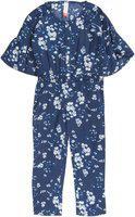 U.S. Polo Assn. Printed Girls Jumpsuit