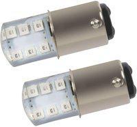 Pivalo Brake Light, Reversing Light, Tail Light, Back Up Lamp LED(Universal For Car, Universal For Bike, Pack of 2)