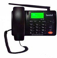 Beetel Cordless Landline Phone Corded Landline Phone(Black)