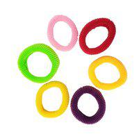 Evogirl All Day Comfort Ponytailers Multicolor , Small, For Women / Girls Rubber Band(Multicolor)