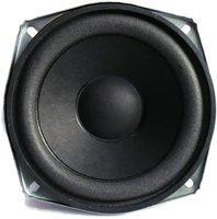 Electronicspices 5'' Inch Square Shape Woofer Speaker 30 Watt 8 Ohm Pro Audio Midrange Loudspeaker Square Shape Coaxial Car Speaker(120 W)