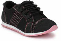 Tuskey Girls Lace Casual Boots(Black)