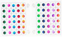 SJ COLLECTION Beautiful Multi Color Shiny Round Shape Size ( H 8 mm x W 8 mm ) 60 Forehead Multicolor Bindis(Fancy Modern Style Designer Bindi)