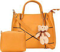 SaleBox Women Orange Messenger Bag(Pack of: 2)