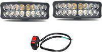 AutoPowerz Fog Lamp, Headlight LED(Universal For Bike, Universal For Car, Pack of 3)