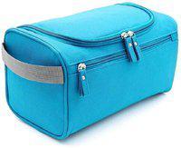 Skyfish ravel Hanging Toiletry Makeup Cosmetic Bag Travel Toiletry Kit(Blue)