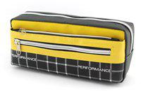 SHERAGO Pen/Pencil Zipper Pouch-Box for Boys & Girls || Best Suitable for School Kids, Travelers and Students || Multipurpose Box/Case || Best Gift for Kids Water Resistant Art Canvas Pencil Box(Set of 1, Multicolor)