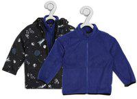 The Children's Place Full Sleeve Graphic Print Boys Jacket
