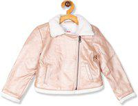 The Children's Place Full Sleeve Solid Baby Girls Jacket