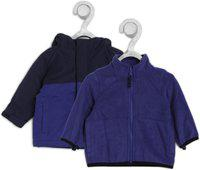 The Children's Place Full Sleeve Color Block Baby Boys Jacket