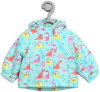 The Children's Place Full Sleeve Graphic Print Baby Girls Jacket