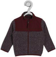 The Children's Place Full Sleeve Solid Baby Boys Jacket