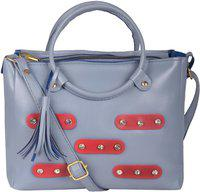 Don Cavalli Women Grey Messenger Bag