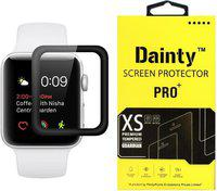 Dainty Tempered Glass Guard for Apple Watch Series 3 42 mm(Pack of 1)