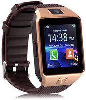 Mindsart 4G smartwatch with Bluetooth Smartwatch(Brown Strap, Free)