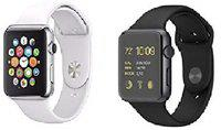 Mindfied Smart Watch Combo for Mobile phones Smartwatch(White, Black Strap, Regular)