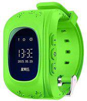 Mindfied Bluetooth Smart Watch for Kids Smartwatch(Green Strap, Free)