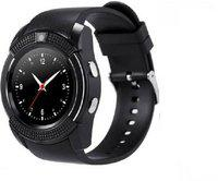 OPILL 4G Smart watch with multi function Smartwatch(Black Strap, Free Size)