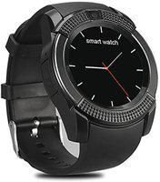 Mindsart 4G Calling Smart watch with Bluetooth Smartwatch(Black Strap, free)